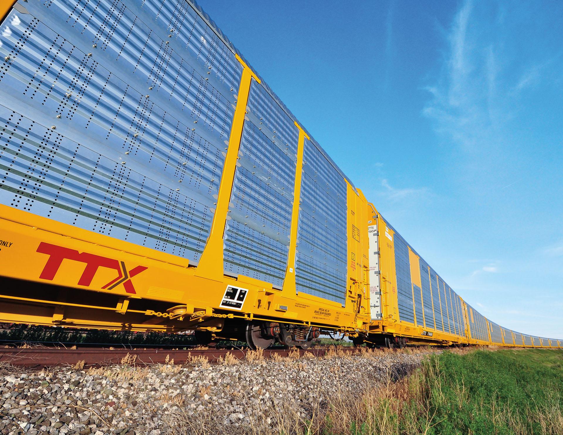 Transportation Company - TTX Company - Railroad Equipment