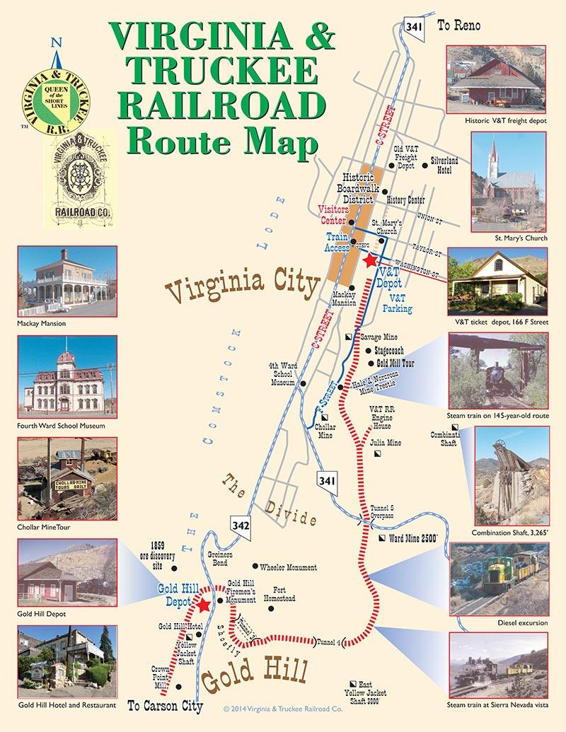 Transportation Company - Virginia & Truckee - Railroad