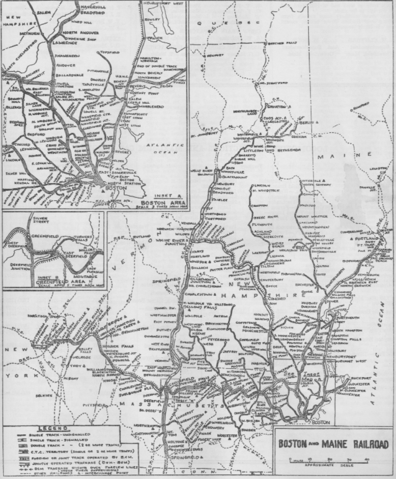 Transportation Company - Boston & Maine - Railroad