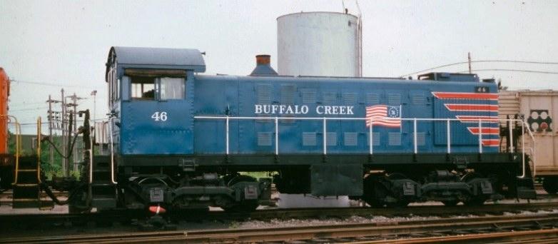 Transportation Company - Buffalo Creek - Railroad