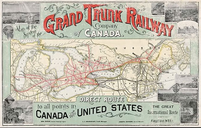 Transportation Company - Grand Trunk Western - Railroad
