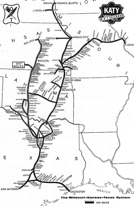 Transportation Company - Missouri-Kansas-Texas - Railroad