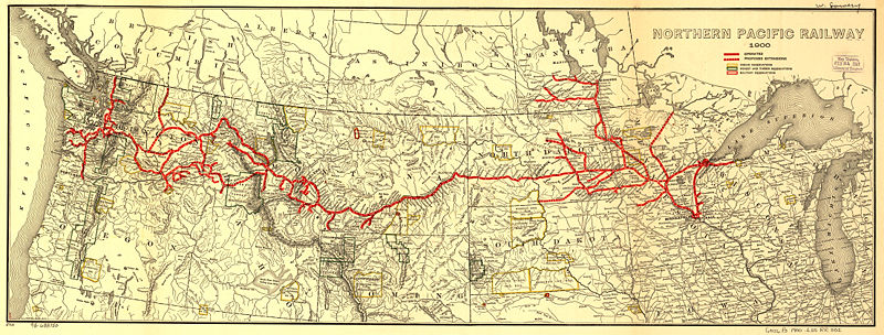Transportation Company - Northern Pacific - Railroad