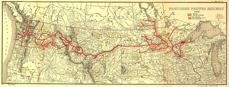 Transportation Company - Northern Pacific - Railroad