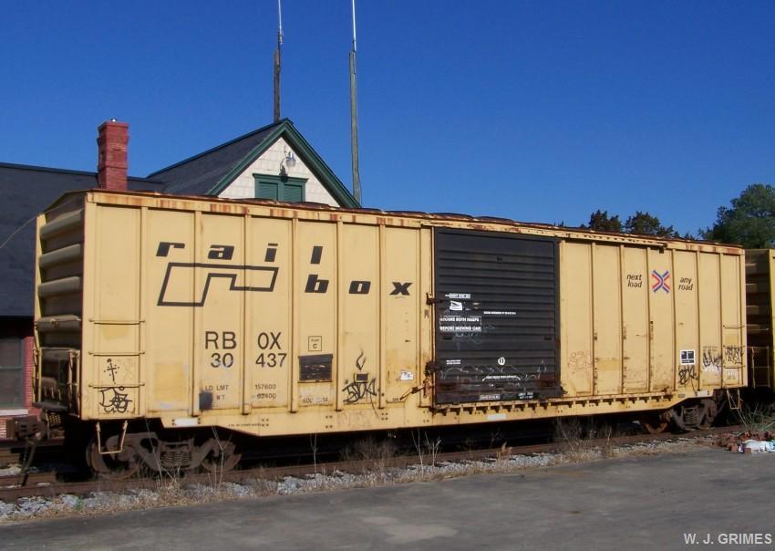 Transportation Company - RailBox - Railroad Equipment