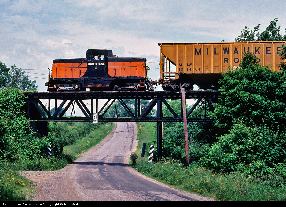 Transportation Company - Arcade & Attica - Railroad