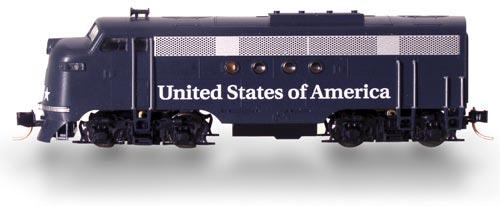 Transportation Company - State Cars - Railroad (Fictional)