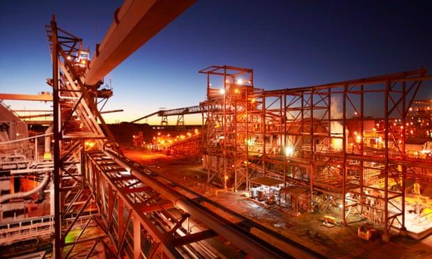 Transportation Company - BHP Billiton - Mining