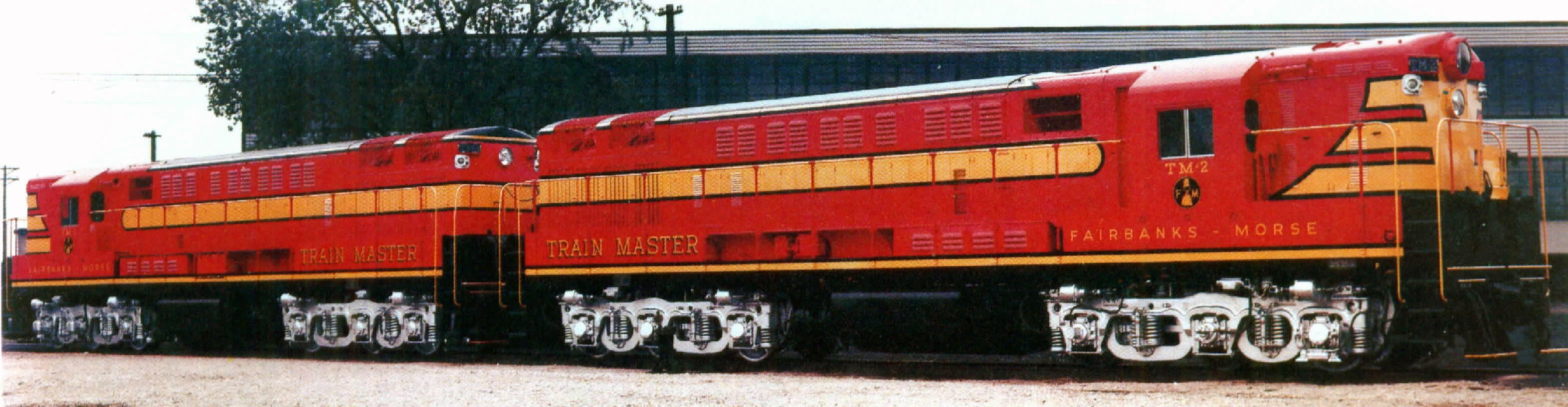 Transportation Company - Fairbanks Morse - Railroad Equipment