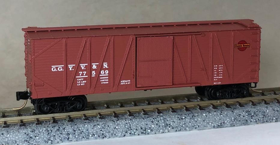 Transportation Company - Great Gulch Yahoo Valley & Northern - Railroad (Fictional)