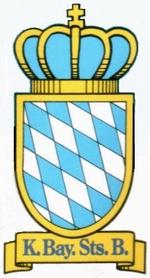 Transportation Company - K.Bay.Sts.B. (Royal Bavarian State Railroad) - Railroad