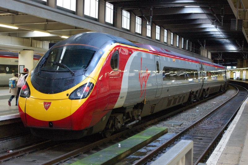 Transportation Company - Virgin Trains - Railroad