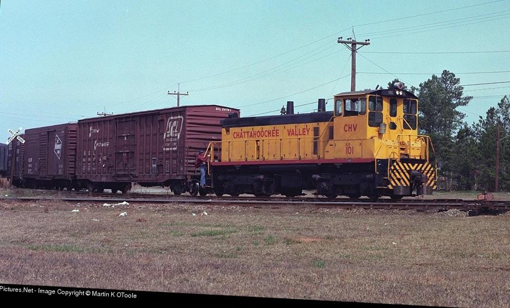 Transportation Company - Chatahoochee Valley - Railroad