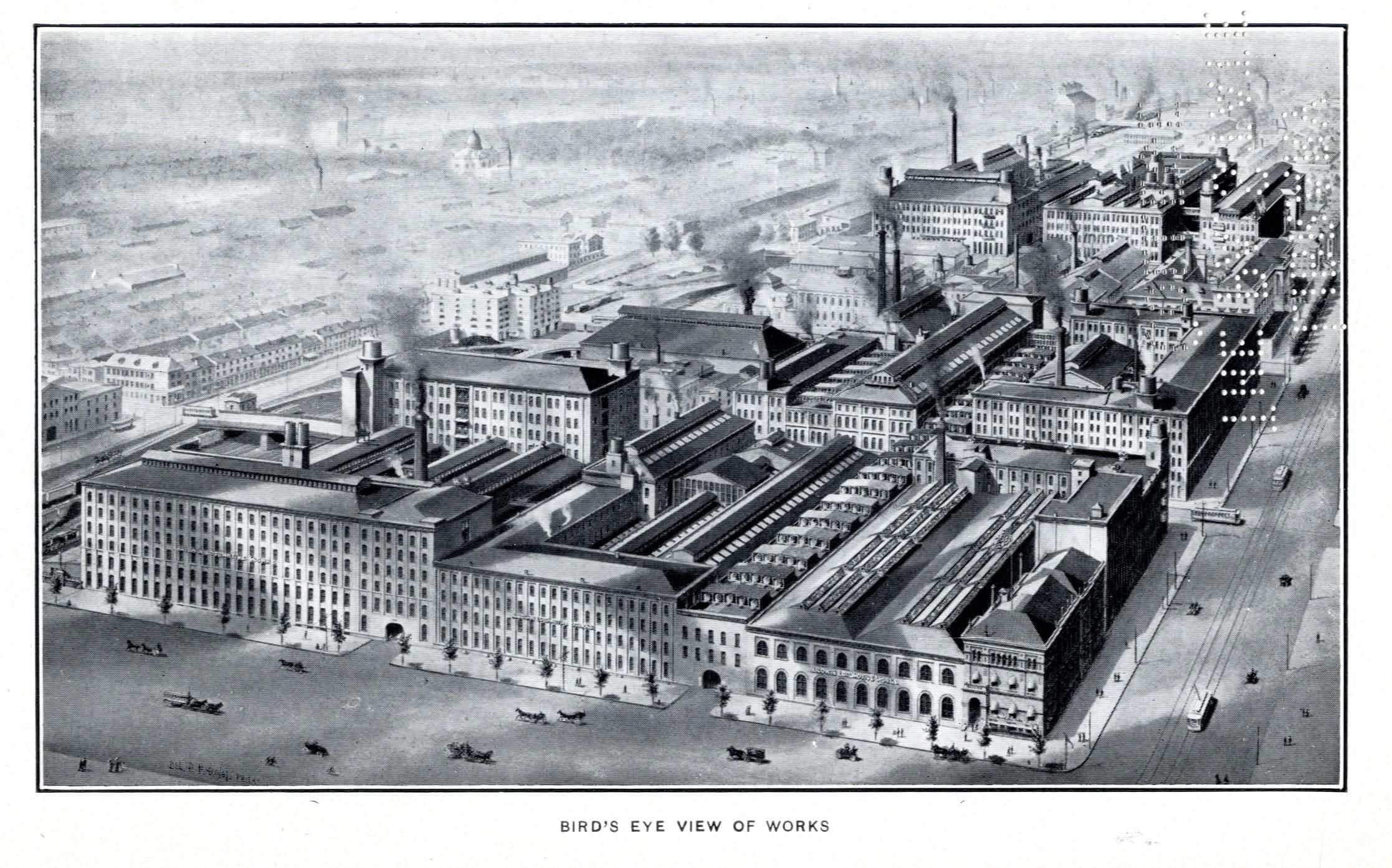 Transportation Company - Baldwin Locomotive Works - Railroad Equipment