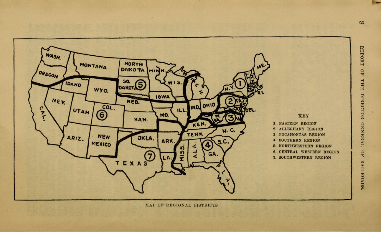 Transportation Company - United States Railroad Administration - Government