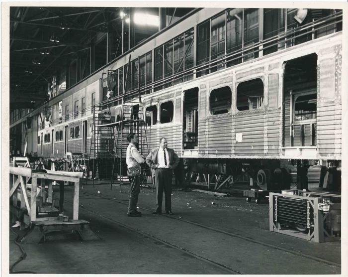 Transportation Company - Montreal Locomotive Works - Railroad Equipment