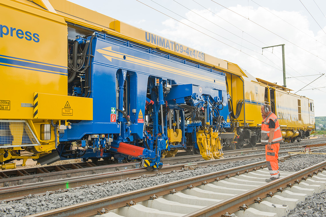 Transportation Company - Plasser & Theurer - Railroad Equipment