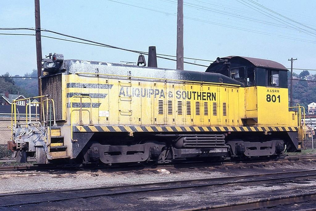 Aliquippa & Southern - Railroad