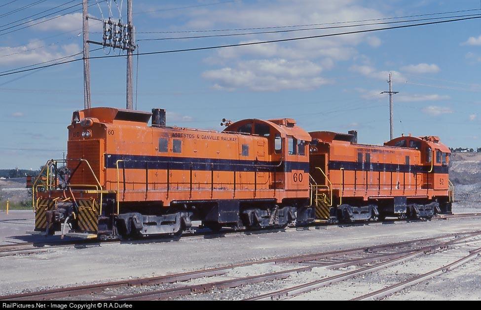 Asbestos & Danville - Railroad