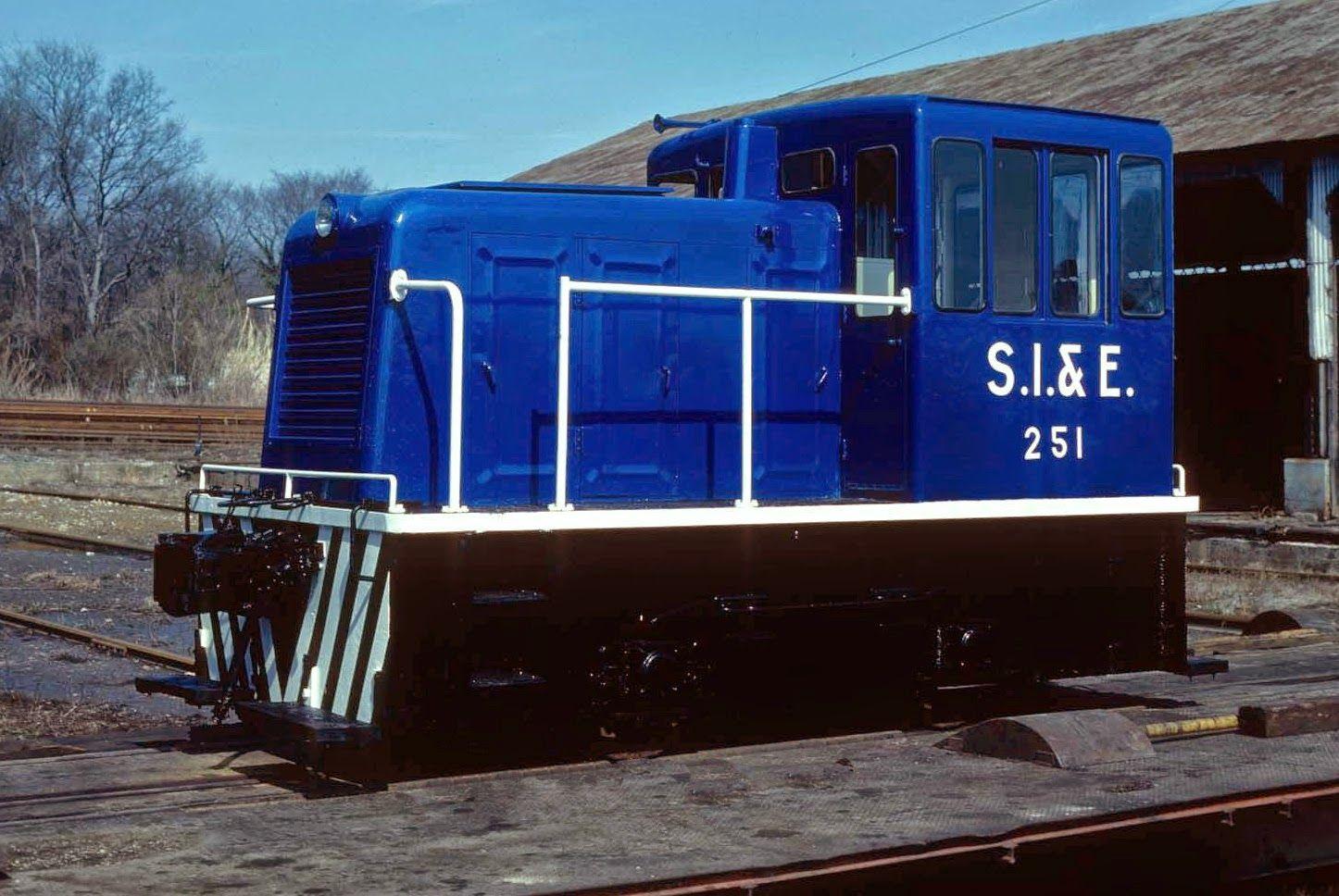 Transportation Company - Southern Iron & Equipment - Railroad Equipment