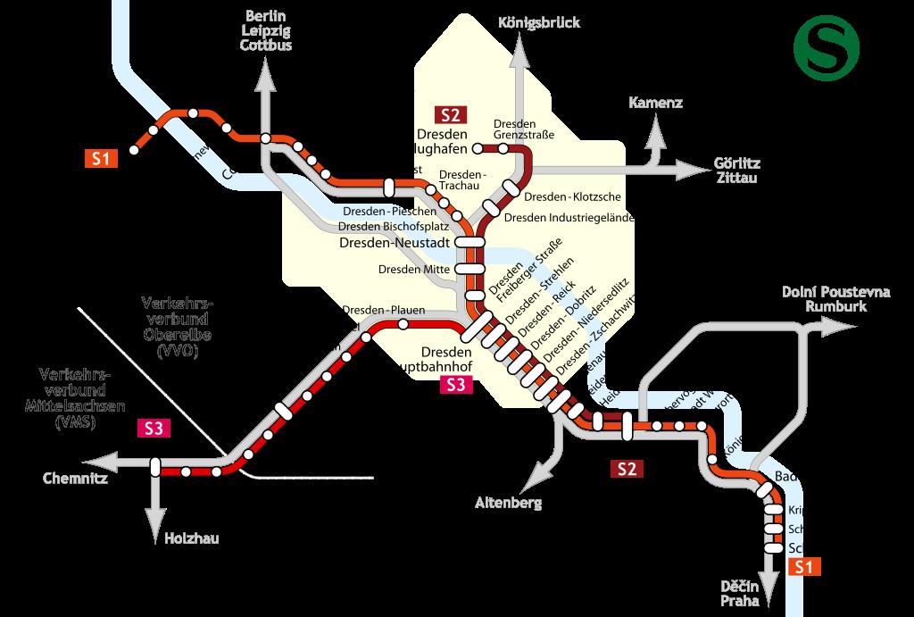 Transportation Company - VVO (Dresden S-Bahn) - Railroad