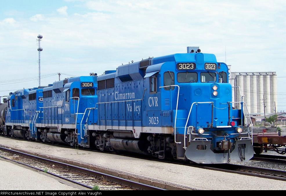 Transportation Company - Cimarron Valley - Railroad