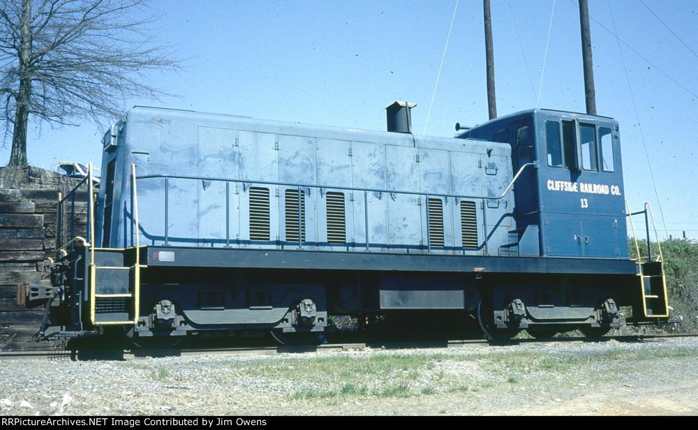 Cliffside - Railroad