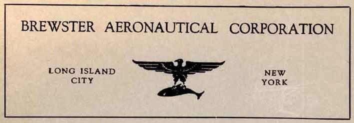 Brewster Aeronautical - Aircraft Manufacturer