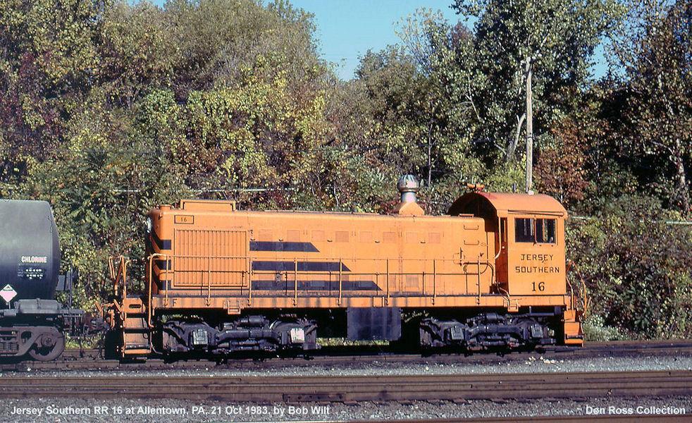 Transportation Company - Jersey Southern - Railroad