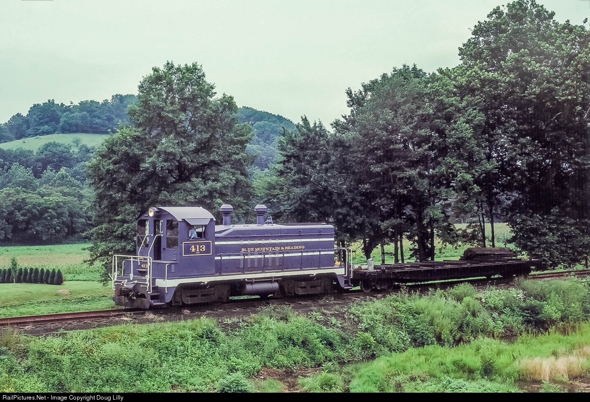 Transportation Company - Blue Mountain & Reading - Railroad