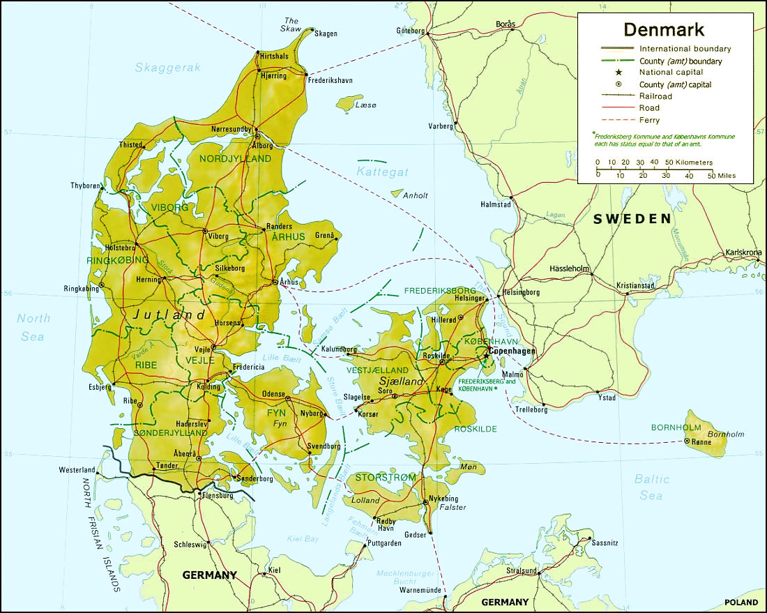 Country - Denmark