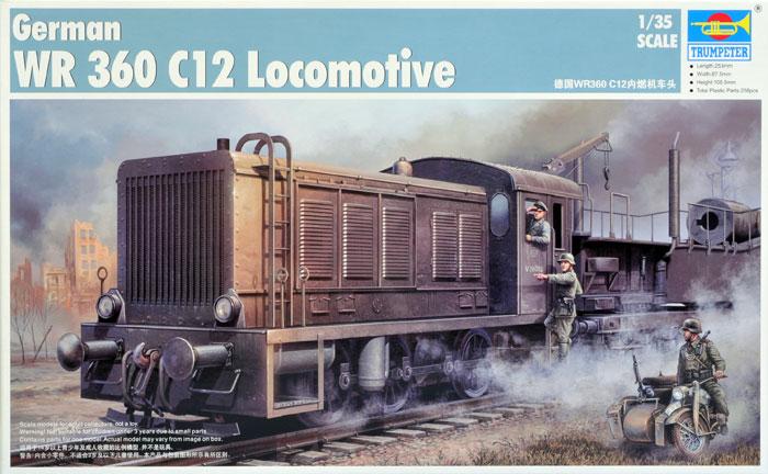 Plastic Models - Trumpeter - 00216 - WR360 C12 Locomotive