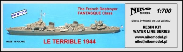 Plastic Models - Niko - 7014 - Le Terrible 1944