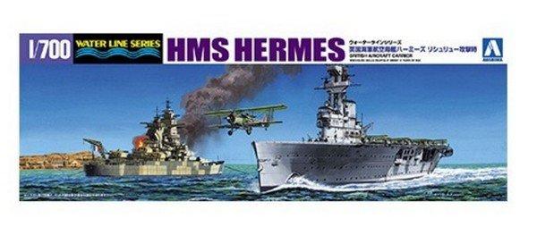 Plastic Models - Aoshima - 05102 - HMS Hermes