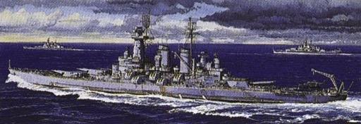 Plastic Models - Aoshima - 46012 - Battleship USS Washington