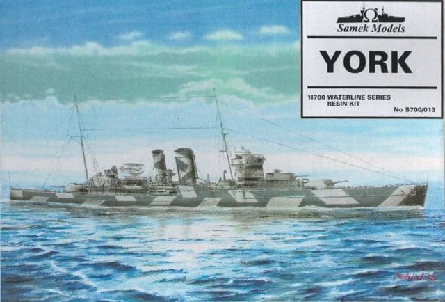 Plastic Models - Samek Models - S700/013 - HMS York