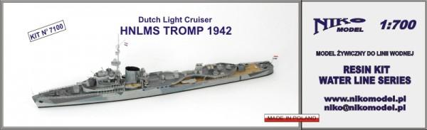 Plastic Models - Niko - 7100 - HNLMS Tromp