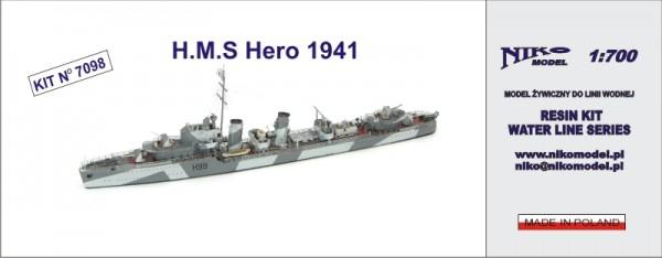 Plastic Models - Niko - 7098 - HMS Hero