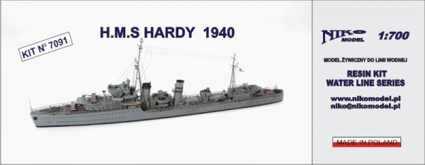 Plastic Models - Niko - 7091 - HMS Hardy