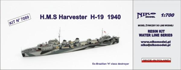 Plastic Models - Niko - 7089 - HMS Harvester