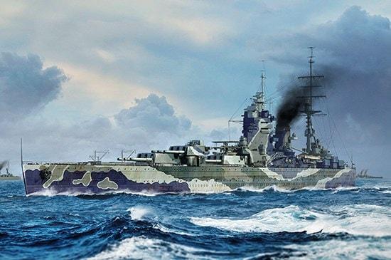 Plastic Models - Trumpeter - 06718 - HMS Rodney