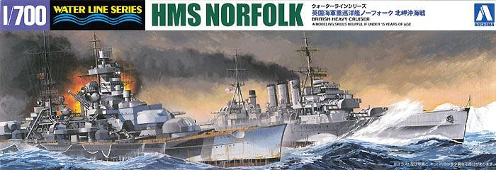 Plastic Models - Aoshima - 056691 - HMS Norfolk