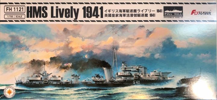 Plastic Models - Flyhawk - 1121 - HMS Lively 1941