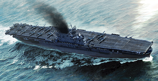 Plastic Models - Trumpeter - 06708 - USS Enterprise CV-6
