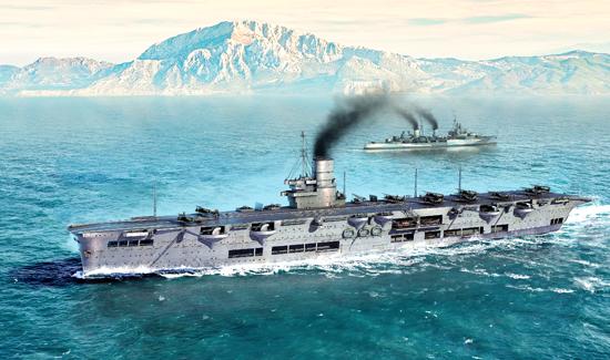 Plastic Models - Trumpeter - 06713 - HMS Ark Royal 1939