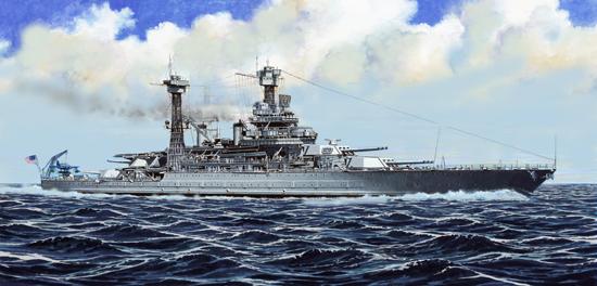 Plastic Models - Trumpeter - 05783 - USS California BB-44 1941