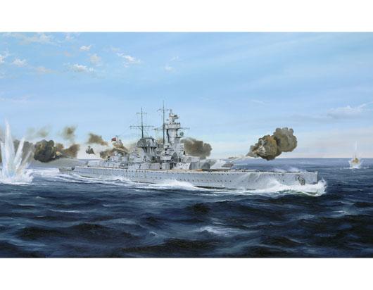 Plastic Models - Trumpeter - 05774 - Admiral Graf Spee 1939