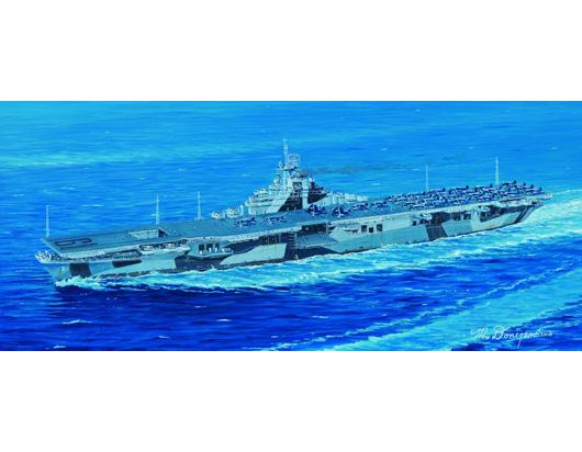 Plastic Models - Trumpeter - 05737 - USS Hancock CV-19