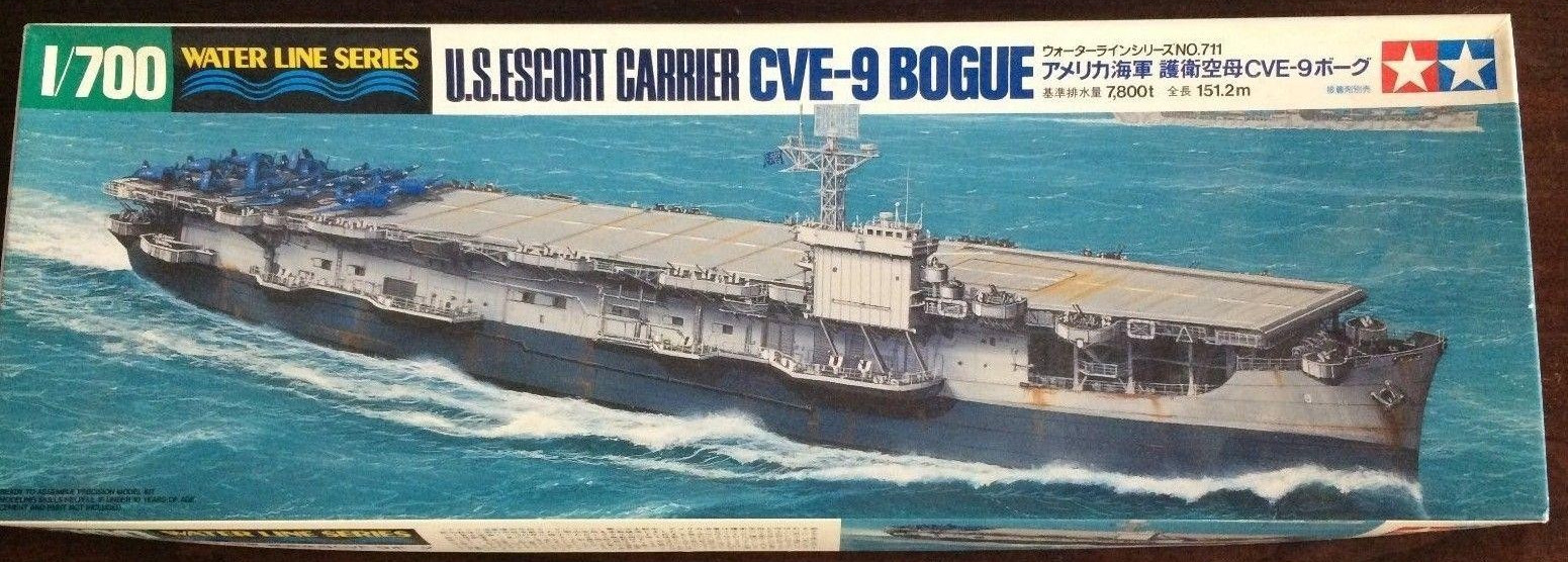 Plastic Models - Tamiya - 711 - U.S. Escort Carrier CVE-9 Bogue