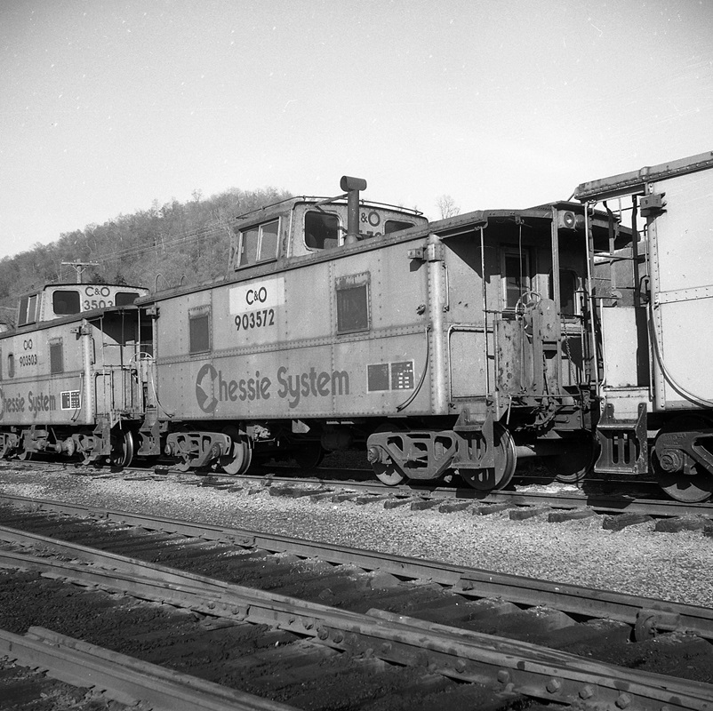 Vehicle - Rail - Rolling Stock (Freight) - Caboose - Cupola, Steel, C&O